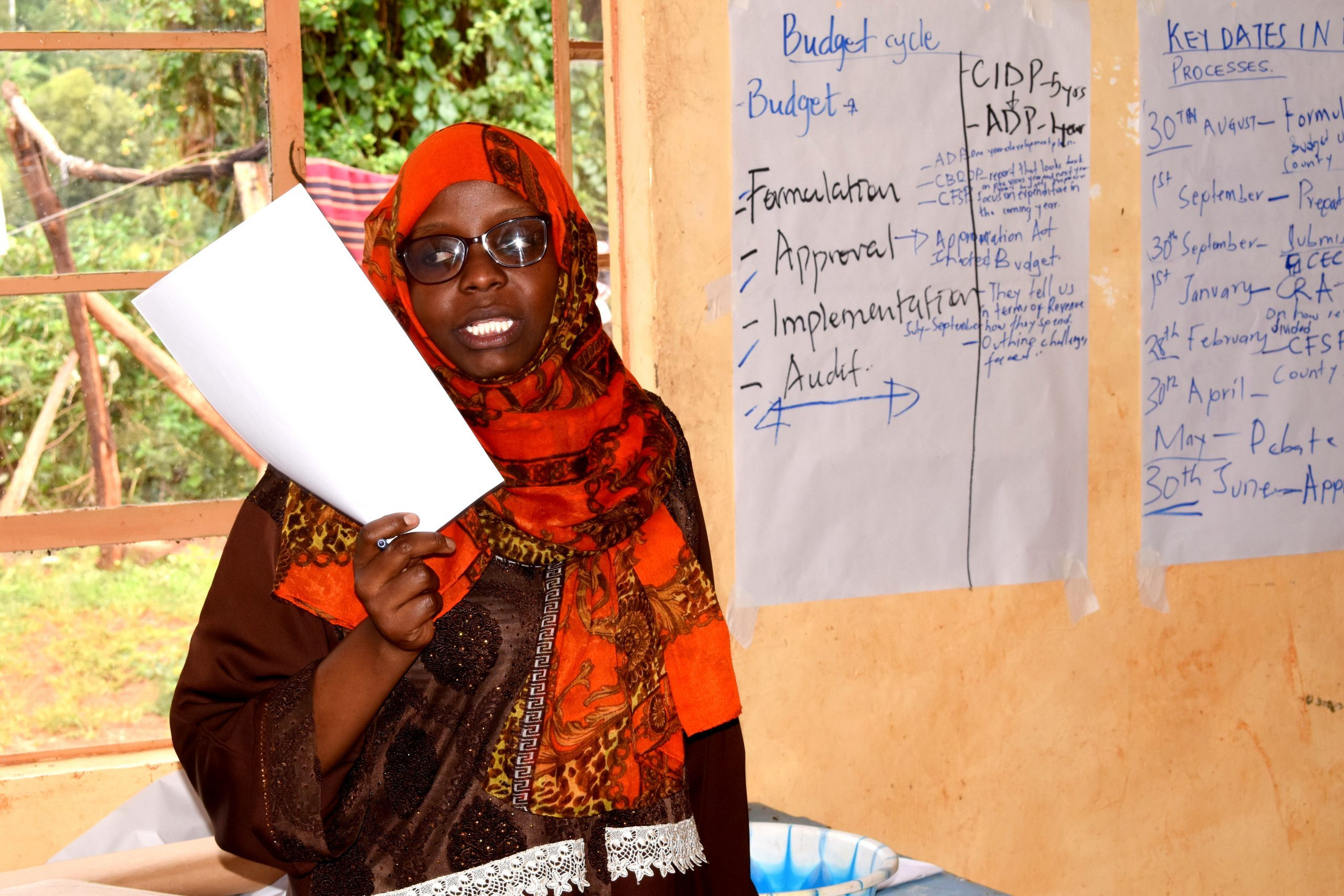 Tunahusika; Entrenching youth voice in regional governance processes'