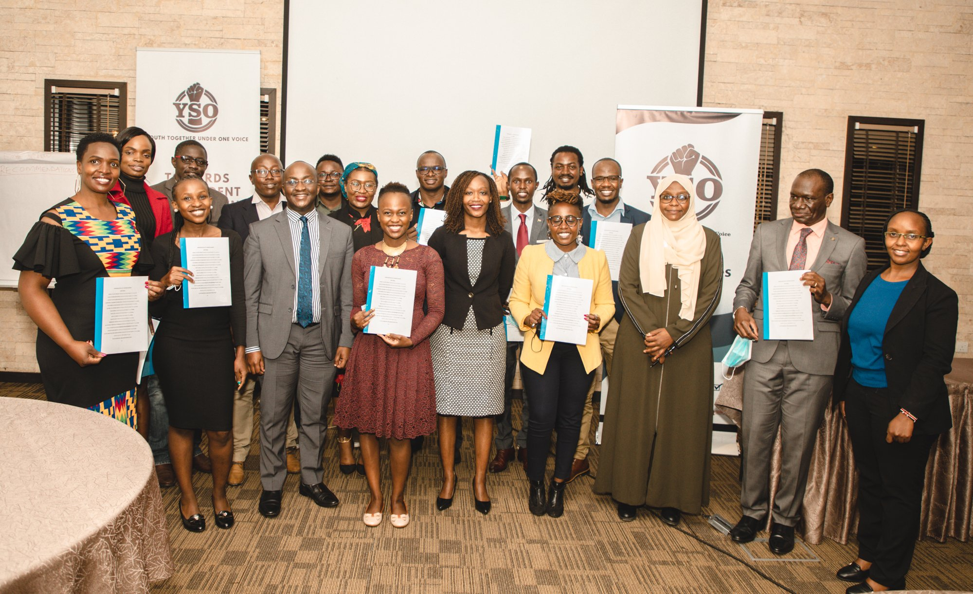 YSO(Youth-Serving Organizations)-Building strong coalitions, networks and partnerships to advocate for social, economical and political empowerment of young people in Kenya.#opportunitiesforall